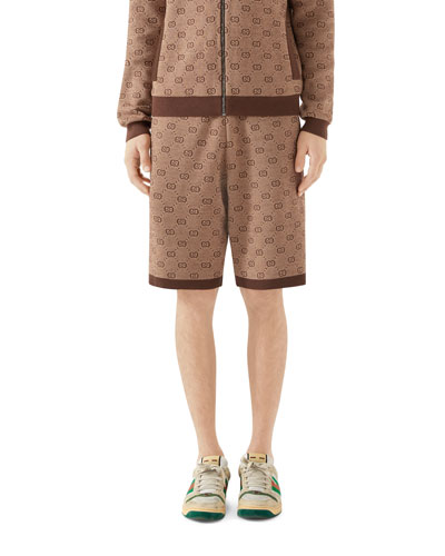Men's GG Logo Knit Shorts