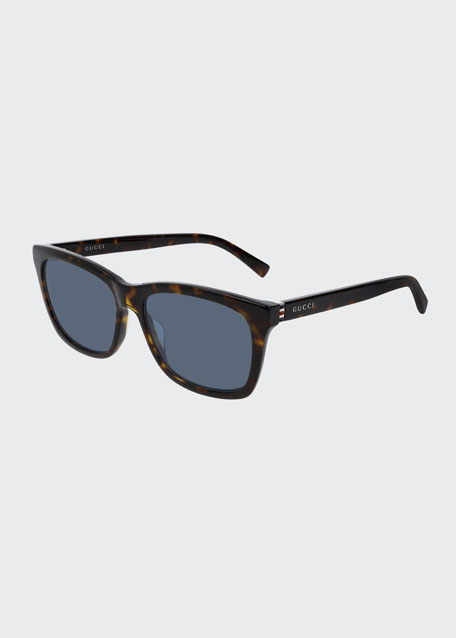 Men's Nylon Rectangle Sunglasses
