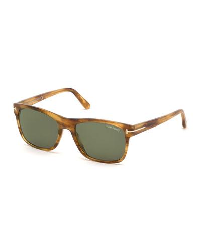 Men's Giulio Polarized Havana Sunglasses