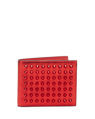 Men's Coolcard Studded Bifold Wallet