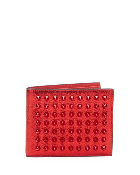 Men's Coolcard Studded Bifold Wallet