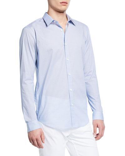 Men's Irving Mast-Print Sport Shirt