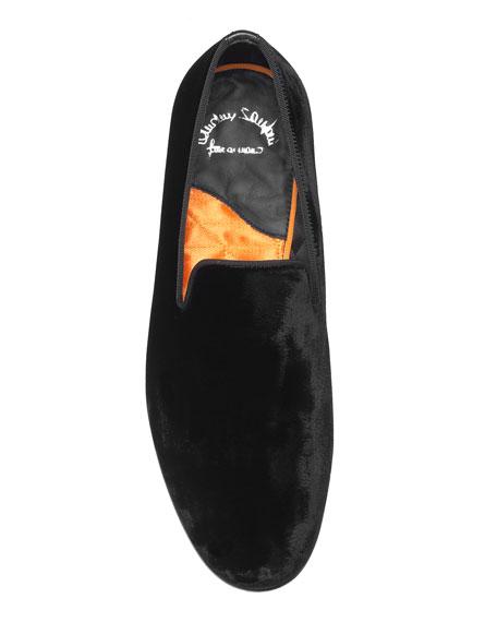 Men's Logan Velvet Loafers