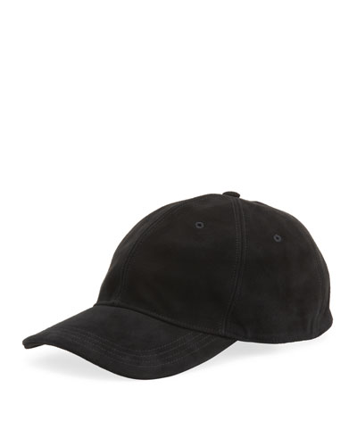Men's Suede Baseball Cap