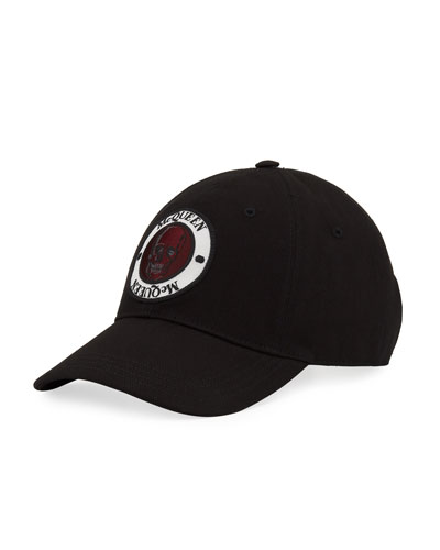 Men's Logo Badge Baseball Hat