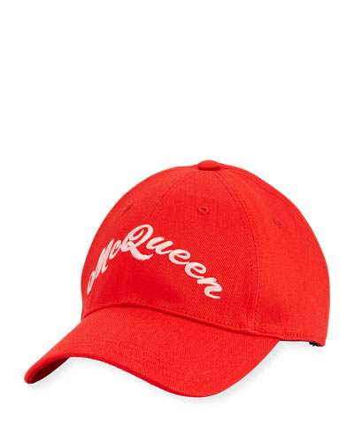 Men's Embroidered Logo Baseball Hat