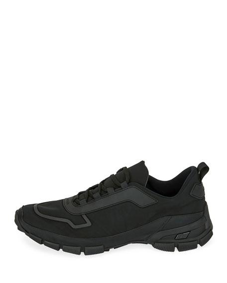 Men's Gabardine Soft Runner Sneakers