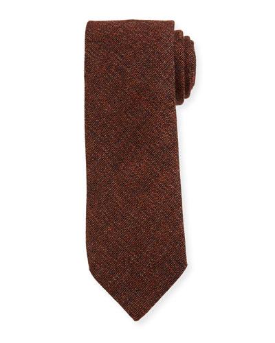 Men's Solid Wool Tie