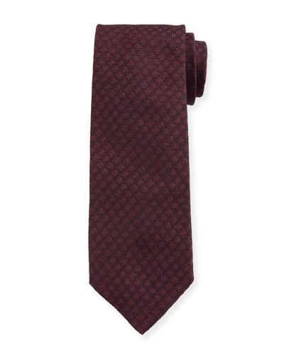 Men's Silk Jacquard Tie