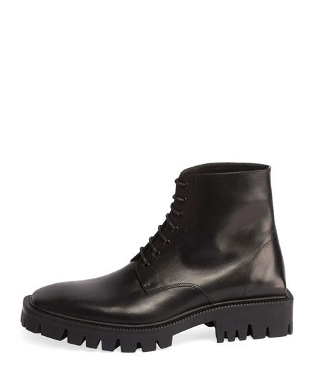 Men's Outdoor Rim Leather Combat Boots