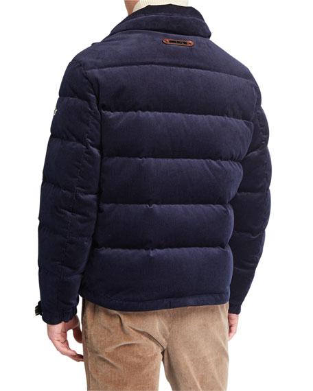 Ralph Lauren Men's Corduroy Puffer Jacket - Bergdorf Goodman