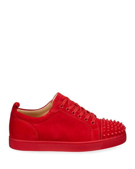 Men's Louis Junior Spikes Red Sole Sneakers