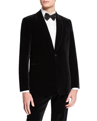 Men's Alec Two-Piece Velvet Tuxedo