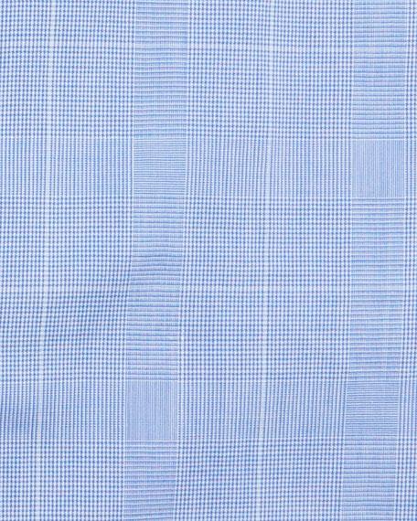 Men's Long-Sleeve Plaid Dress Shirt