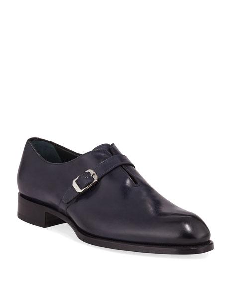 Men's Benedict Monk-Strap Loafers