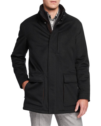 Men's Elements Cashmere Coat