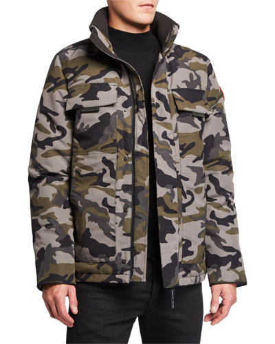 Men's Forester Camo Parka Jacket