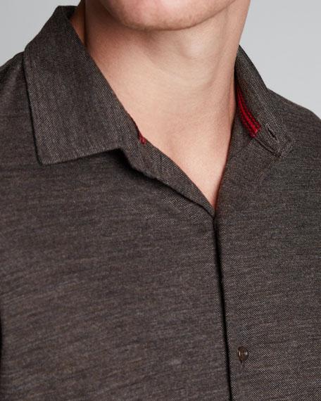 Men's Pique-Knit Sport Shirt