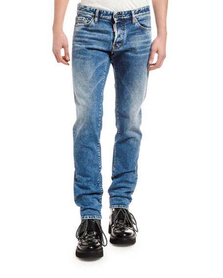 Men's Clean Slim Jeans