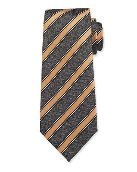 Men's Striped Silk Tie