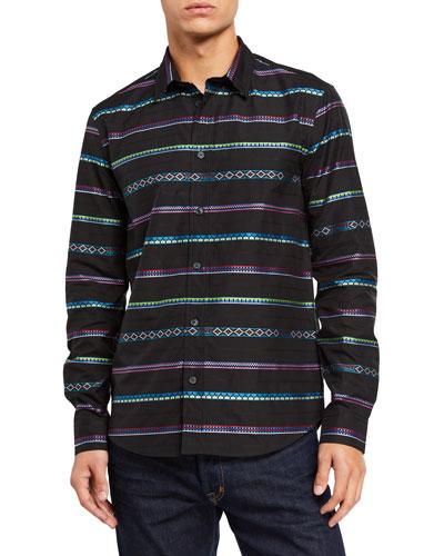 Men's Peruvian Stripes Sport Shirt