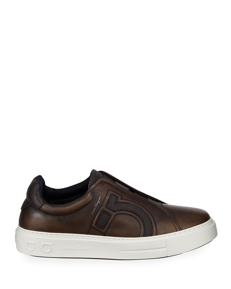 Men's Tasko Slip-On Leather Sneakers
