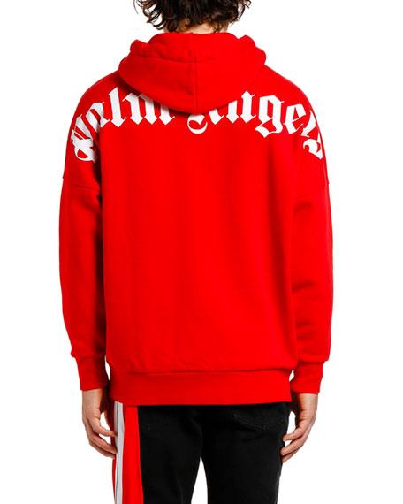 Men's Logo Over Pullover Hoodie