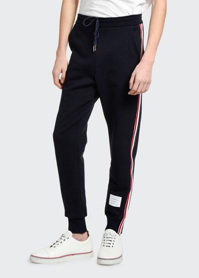 Men's Side-Stripe Classic Sweatpants