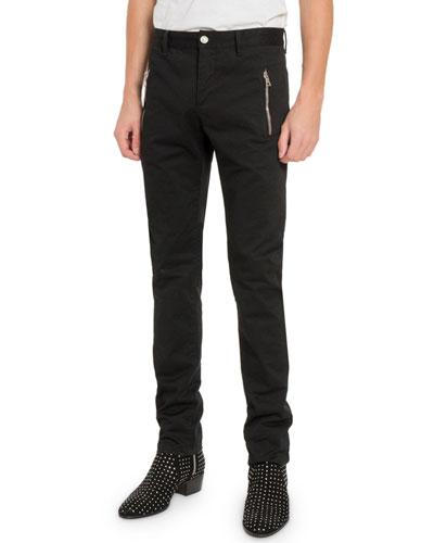 Men's Zip-Pocket Trousers