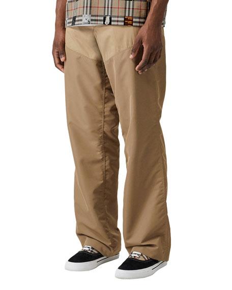 Men's Run Mix Wide Trouser Pants