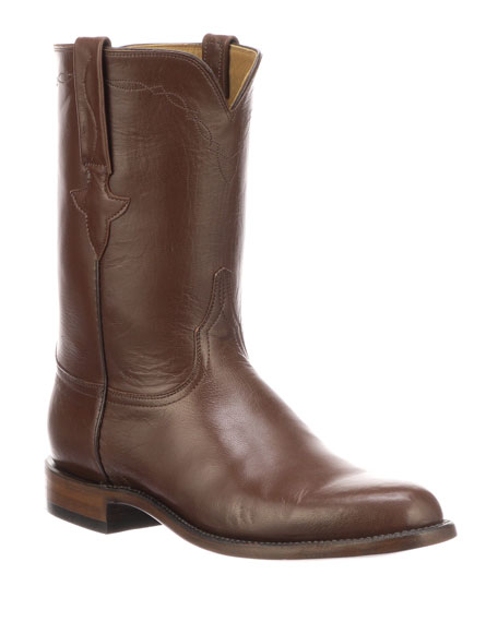 Image 1 of 1: Men's Bannock Leather Cowboy Boots (Made to Order)