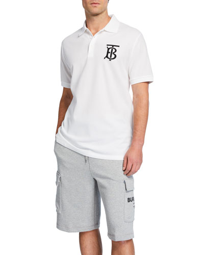 Men's Logo-Patch Polo Shirt
