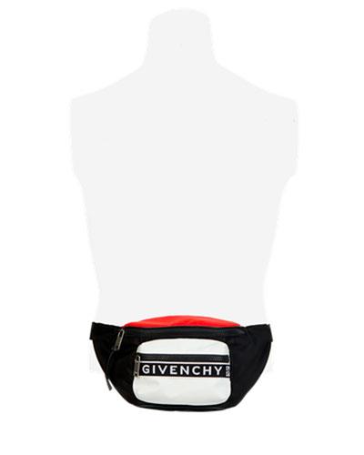 Men's Light 3 Colorblock Nylon Belt Bag/Fanny Pack