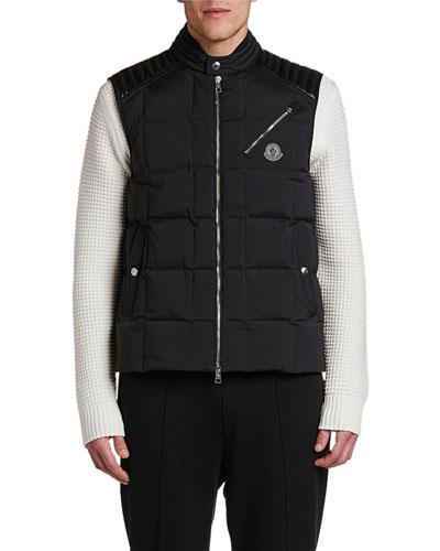 Men's Holsteiner Zip-Front Quilted Vest