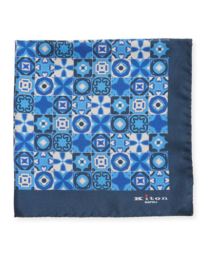 Men's Silk Multi-Shape Pocket Square