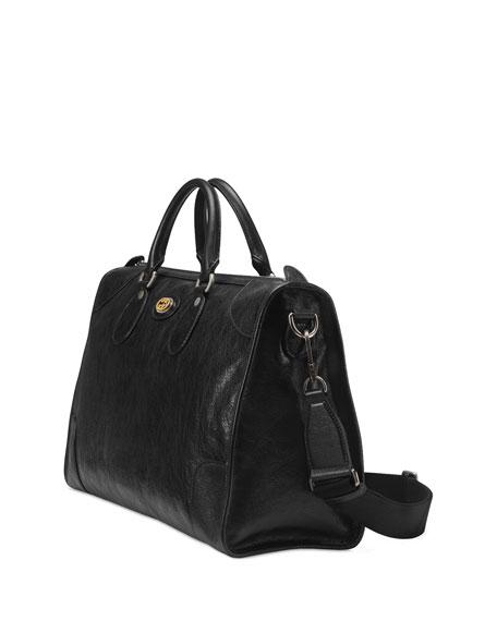 Men's Medium Leather Weekender Bag