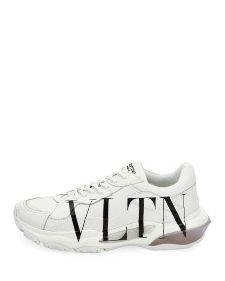 Men's Bounce VLTN Logo Runner Sneakers