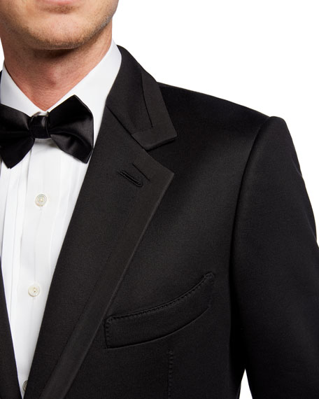 Men's O'Connor Two-Button Dinner Jacket w/ Satin Trim