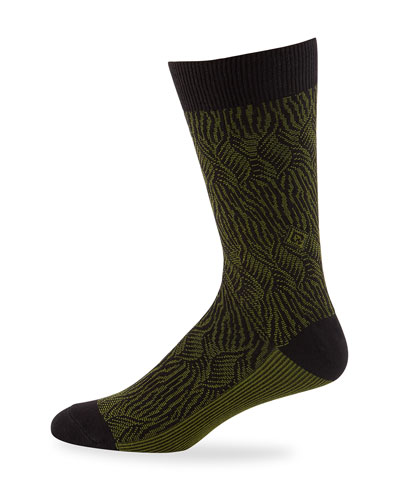 Men's Richards Jacquard Knit Socks
