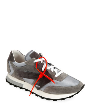 Off-White Men's HG Runner Arrow Sneakers, Light Gray