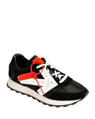 Off-White Men's HG Runner Arrow Sneakers, Black
