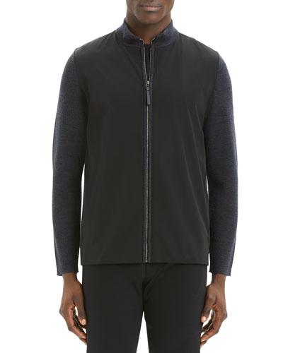 Men's Detroe Milos Zip-Front Sweater