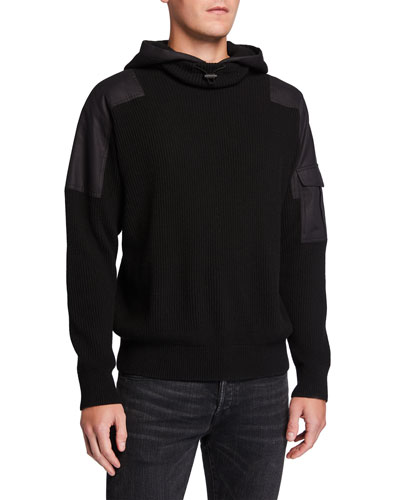 Men's Andrew Military Pullover Hoodie