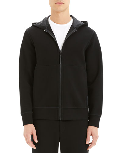 Men's Double-Hooded Scuba-Rib Active Jacket