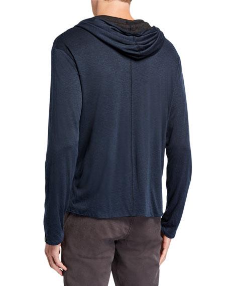 Men's Reversible Pullover Hoodie