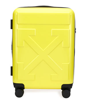 Off-White Men's Arrow Trolley Carry-On Suitcase