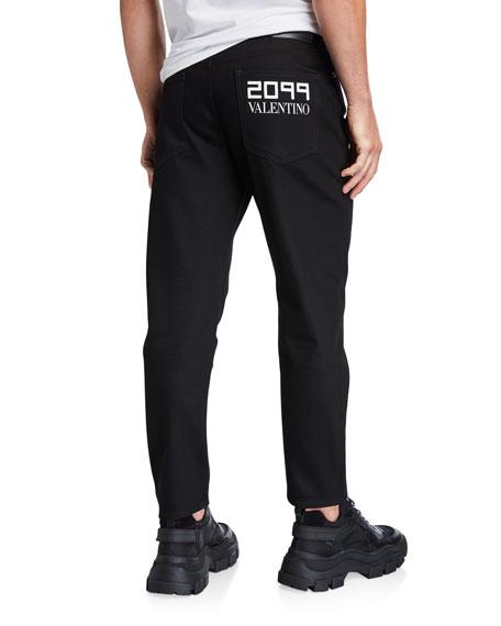 Men's 5-Pocket Straight-Leg Jeans