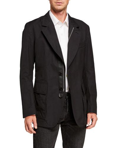 Men's Zip-Front Sportswear Jacket
