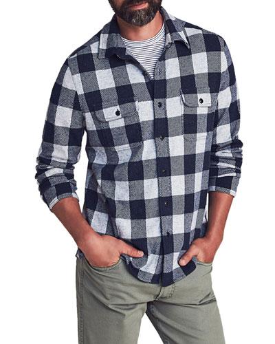 Men's Legend Check Sweater Shirt