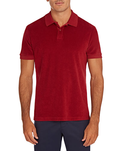 Men's Jarrett Terry Towel Polo Shirt